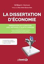 Téléchargez le livre :  La dissertation d'économie