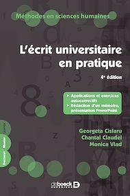 Téléchargez le livre :  L'écrit universitaire en pratique