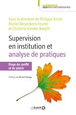 Download this eBook La supervision en institution et analyse de pratiques