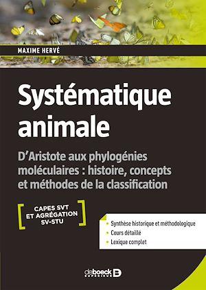 Téléchargez le livre :  Systématique animale