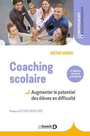 Téléchargez le livre :  Coaching scolaire