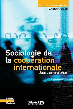 Download the eBook: Sociologie de la coopération internationale