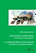 Téléchargez le livre :  Le constitutionnalisme environnemental