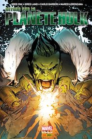 Téléchargez le livre :  Retour sur la Planète Hulk
