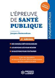 Téléchargez le livre :  L'épreuve de santé publique