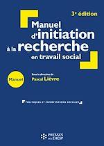 Download this eBook Manuel d'initiation à la recherche en travail social - 3e édition