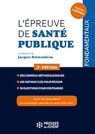 Téléchargez le livre :  L'épreuve de santé publique - 3e édition
