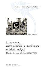 Téléchargez le livre :  L'Indonésie, entre démocratie musulmane et islam intégral