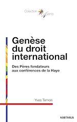 Download this eBook Genèse du droit international