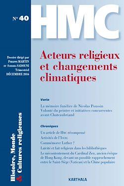 Download the eBook: Histoire, Monde et Cultures religieuses N°40 : Acteurs religieux et changements climatiques