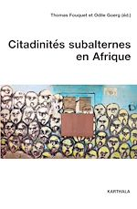 Download this eBook Citadinités subalternes en Afrique