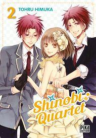 Téléchargez le livre :  Shinobi Quartet T02
