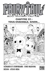 Téléchargez le livre :  Fairy Tail - 100 Years Quest Chapitre 022