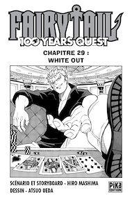 Téléchargez le livre :  Fairy Tail - 100 Years Quest Chapitre 029