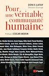 Télécharger le livre :  Pour une véritable communauté humaine