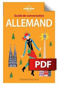 Téléchargez le livre :  Guide de conversation allemand - 7ed