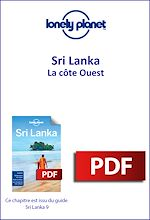Download this eBook Sri Lanka - La côte Ouest