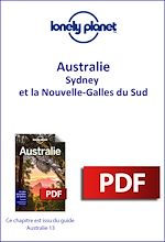 Download this eBook Australie - Sydney et la Nouvelle-Galles du Sud