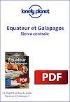 Télécharger le livre :  Equateur et Galapagos - Sierra centrale
