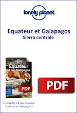Download this eBook Equateur et Galapagos - Sierra centrale
