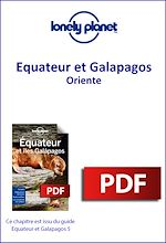 Download this eBook Equateur et Galapagos - Oriente