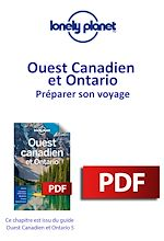 Download this eBook Ouest Canadien et Ontario - Préparer son voyage