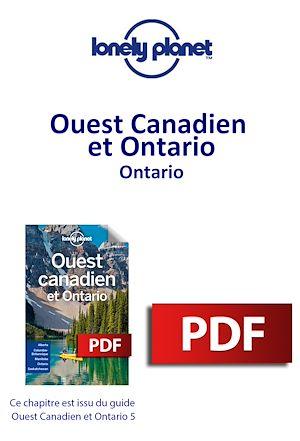 Téléchargez le livre :  Ouest Canadien et Ontario - Ontario