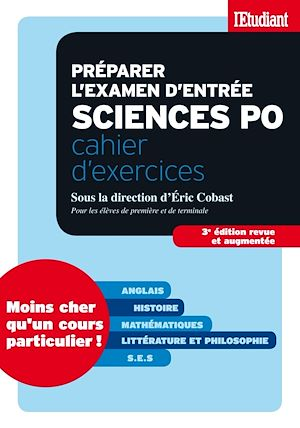 Téléchargez le livre :  Préparer l'examen d'entrée sciences po - Cahier d'exercices Anglais