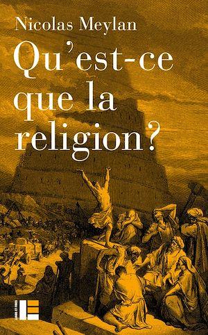 Image de couverture (Qu'est-ce que la religion ?)