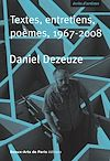 Télécharger le livre :  Daniel Dezeuze, Textes, entretiens, poèmes, 1967-2008