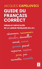 Download this eBook Guide du français correct
