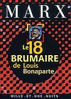 Télécharger le livre :  Le 18 Brumaire de Louis Bonaparte