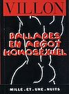 Télécharger le livre :  Ballades en argot homosexuel
