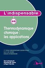 Download this eBook L'indispensable en Thermodynamique chimique : les applications