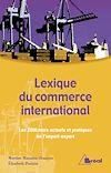 Télécharger le livre :  Lexique du commerce international