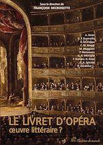 Download this eBook Le Livret d'opéra - Œuvre littéraire ?