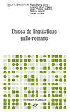 Télécharger le livre :  Études de linguistique gallo-romane