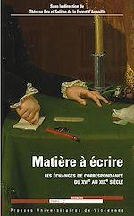 Download this eBook Matière à écrire