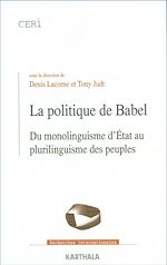 Download this eBook La politique de Babel
