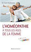 L'homéopathie à tous les âges de la femme |