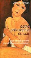Télécharger le livre :  Petite philosophie du soir