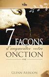 Télécharger le livre :  Sept (7) façons d'augmenter votre onction