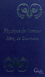 Téléchargez le livre :  Cercle Poche n°157 Physique de l'Amour