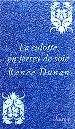 Téléchargez le livre :  Cercle Poche n°160 La Culotte en jersey de soie