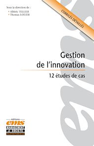 Téléchargez le livre :  Gestion de l'innovation