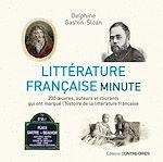 Download this eBook Littérature française minute