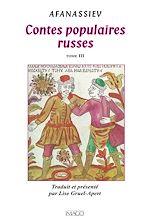 Téléchargez le livre :  Contes populaires russes - Tome 3