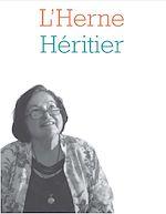 Download this eBook Cahier de L'Herne N°124 : Françoise Héritier
