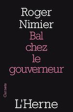 Download this eBook Bal chez le gouverneur