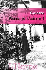 Download this eBook Paris je t'aime !